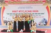 Hoà Binh préserve la culture traditionnelle dans les écoles