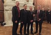 Nomination du consul d'honneur du Vietnam à Marseille (France)