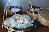 Riz gluant au manioc