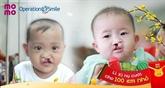Plus de 940 millions de dôngs pour les enfants de malformations faciales