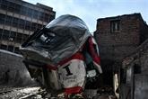 Collision entre deux trains au Caire : 13 blessés