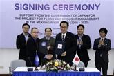 Le Japon aide à gérer les inondations et sécheresses dans le bassin du Mékong