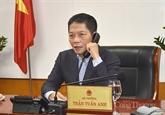 Le ministre Trân Tuân Anh s'entretient avec le chef de la région autonome Zhuang du Guangxi