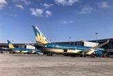 Vietnam Airlines continue de transporter les passagers vietnamiens de retour d'Europe