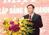 L'organisation du Parti de la ville de Hanoï souffle ses 90 bougies