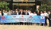 VKBIA et KORCHAM coordonnent leurs efforts pour lutter contre le COVID-19 au Vietnam