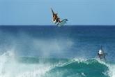 Les compétitions du circuit pro de surf suspendues
