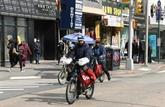 Les livreurs de nourriture new-yorkais en première ligne