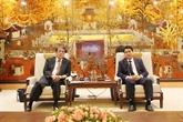 Hanoï renforce sa coopération avec les partenaires japonais