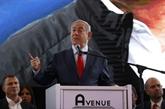 Troisième round électoral en Israël, décisif pour Netanyahu