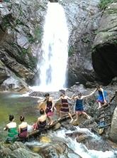 La cascade d'A Nôr
