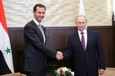 Les présidents syrien et russe discutent par téléphone d'un cessez-le-feu à Idleb