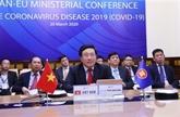COVID-19 : l'ASEAN et l'UE unies dans la lutte contre la pandémie