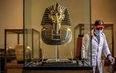 Opération désinfection au musée égyptien du Caire