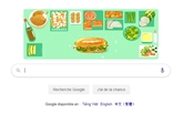 Le banh mi s'affiche sur la page d'accueil de Google