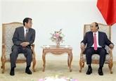 Le Premier ministre reçoit l'ambassadeur du Japon