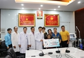 COVID-19 : l'hôpital Cho Rây reçoit un respirateur