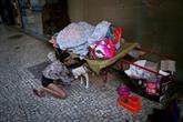 Les sans-abri de Rio en mode survie