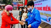 La jeunesse vietnamienne lutte contre le COVID-19
