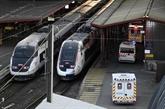 Préparatifs pour l'évacuation de patients à bord un TGV médicalisé
