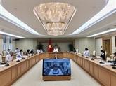 COVID-19 : le groupe de travail du Premier ministre saisit les difficultés des entreprises