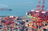 La balance commerciale excédentaire de 2,8 milliards d'USD