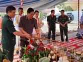 Mise en chantier du monument de l'amitié dans une province cambodgienne