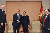 Un vice-Premier ministre reçoit le PDG du groupe Jadestone Energy
