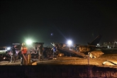 Philippines : un avion avec huit personnes prend feu au décollage