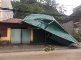 Les tourbillons et les tempêtes de grêle causent de graves dommages aux provinces du Nord