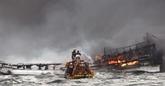 Incendie d'un bateau près de Jeju : l'ambassade du Vietnam protège ses citoyens
