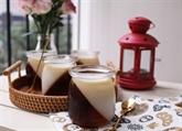 Gelée au café et à la crème de coco