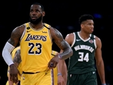 NBA : les Lakers et LeBron s'imposent face à Milwaukee et Giannis