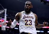 NBA : les Lakers calment les Clippers et relancent la bataille de L.A.