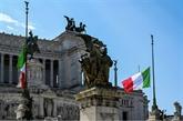 Italie : minute de silence et drapeaux en berne
