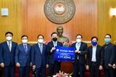 La République de Corée soutient financièrement la lutte du Vietnam contre le COVID-19