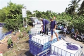 Assistances de la BM et d'Insee Vietnam au delta du Mékong