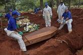 Brésil : 5.717 cas d'infection, 201 décès