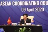 Les ministres des AE de l'ASEAN conviennent d'établir un fonds de réponse au COVID-19