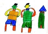 Trente-six peintures d'enfants autistes présentés pour la première fois en ligne
