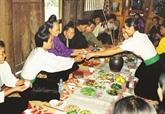 Pa pinh tôp, plat traditionnel des Thai du Nord-Ouest