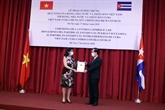 Le Vietnam et Cuba coopèrent dans la lutte contre le COVID-19