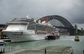 Quelque 9.000 membres d'équipage de bateaux de croisière dépistés en Australie