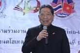 Condoléances suite au décès d'un ancien ministre thaïlandais des AE