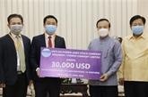 Une entreprise vietnamienne contribue à la lutte contre le COVID-19 au Laos