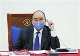 COVID-19 : conversation téléphonique entre les PM vietnamien et chinois