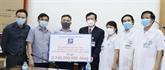 Petrolimex fait un don de 117.000 USD à l'hôpital de Bach Mai