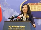 Le Vietnam suit de près la situation compliquée dans des zones maritimes de certains pays de l'ASEAN