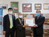L'ambassade du Vietnam au Japon soutient les citoyens vietnamiens touchés