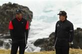 Golf : Woods et Mickelson contre des stars du foot US pour lever des fonds